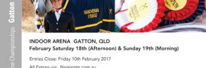 HHSA Young Dressage Horse Championships Gatton 2017