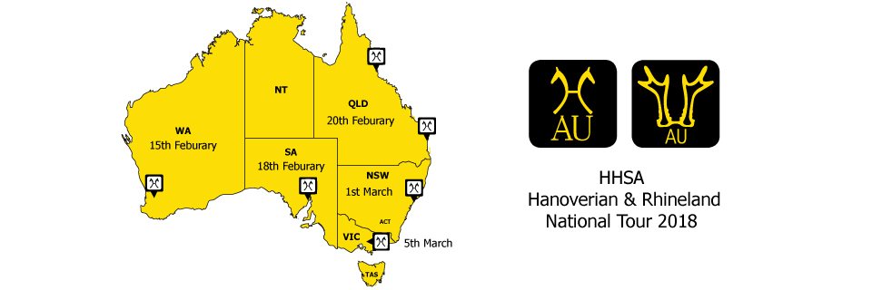 HHSA National Tour Map 2018