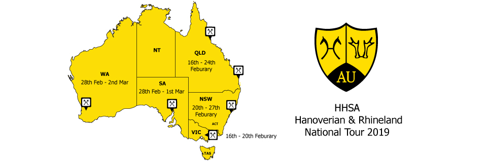 HHSA National Tour Map 2019